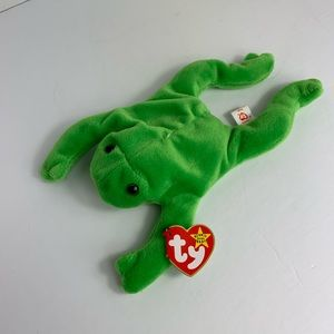 Ty beanies 'rare' legs the frog '93